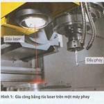 Gia công bằng tia laser trên máy phay