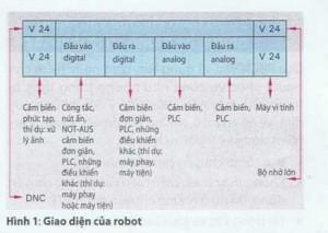 Giao tiếp của RBCN (Robot công nghiệp) và thiết bị ngoại vi