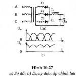 Nguyên lý làm việc mạch chỉnh lưu ba pha