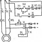 Sơ đồ điều khiển động cơ lồng sóc có hãm động năng