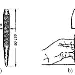 Dụng cụ gá đặt thường dùng trong vạch dấu, chấm dấu