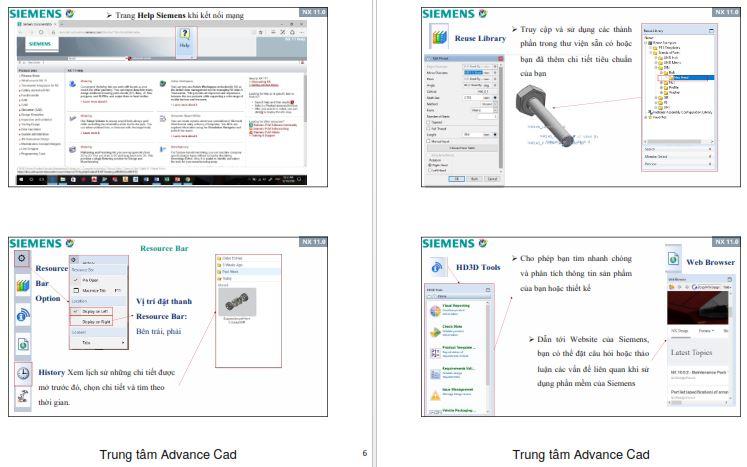 Chia sẻ Giáo trình NX11 phần cơ bản