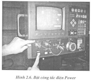 2 – Khởi Động Máy Uốn RG-50