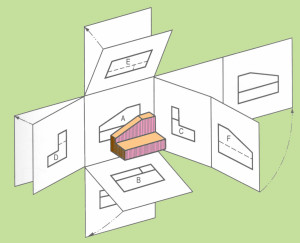 Vẽ Kỹ Thuật_Bài 16: Khái niệm về hình chiếu