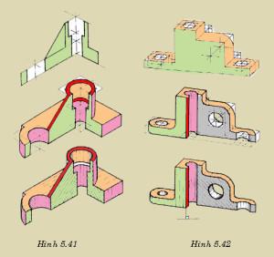 Vẽ Kỹ Thuật_Bài 13: Phép chiếu vuông góc khi dựng hình